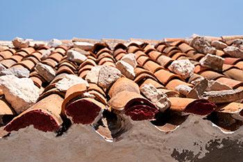 empresa de humedades tejado