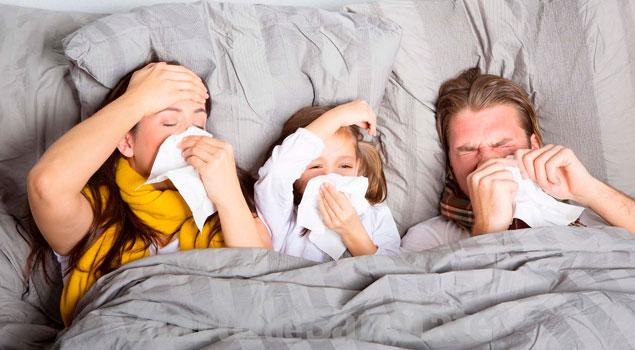 Las humedades causan enfermedades